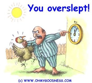 You_overslept